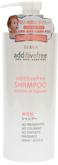 Beaua Шампунь для волос Additive Free, 600 мл017306Шампунь Beaua Additive Free на 100% состоит из натуральных компонентов. Входящие всостав шампуня растительные масла оказывают благоприятное действие на структуру волос,питают и защищают их от корней до самых кончиков. Масла укрепляют волокна волос, делают ихболее стойкими к повреждениям. Шампунь эффективно восстанавливает волосы послеповреждения и сухости, делает их более гладкими и послушными. Шампунь не содержитотдушек, красителей и антисептических средств.Товар сертифицирован. Уважаемые клиенты! Обращаем ваше внимание на то, что упаковка может иметь несколько видовдизайна.Поставка осуществляется в зависимости от наличия на складе.