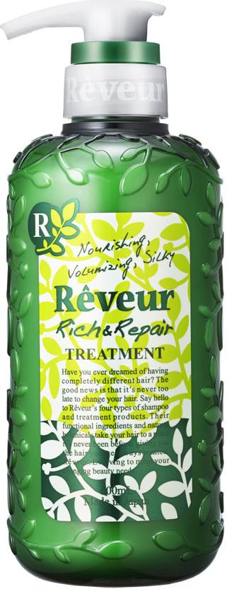 Reveur Кондиционер для волос Питание и восстановление, 500 мл3210Кондиционер содержит 3 специальных природных компонента, придающих упругость, эластичность, а также 14 растительных экстрактов,питающих волосы и возвращающих им естественный и здоровый вид. Смягчающий компонент на основе коллагена делает волосы невероятномягкими и послушными. Силикон, содержащийся в кондиционере, запечатывает полезные компоненты на ваших волосах до следующего мытья головы. Рекомендуется для:ослабленных волос, не держащих объем;волос, потерявших упругость и эластичность, не поддающихся укладке;сильно поврежденных волос;кудрявых волос;создания красивых локонов.Имеет элегантный и теплый восточный аромат «Oriental Floral». Рекомендуется использовать вместе с шампунем Reveur «Rich & Repair».Товар сертифицирован.