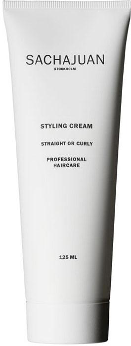 Sachajuan Крем для укладки волос 125 млSCHJ168Стайлинговый крем для жестких и вьющихся волос использует технологию «Морской шелк» и делает волосы мягкими, шелковистыми на ощупь и невероятно сияющими. Защищает волосы от воздействия чрезмерно высоких температур.