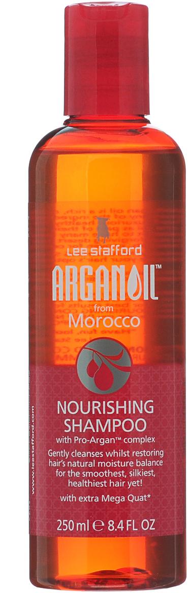 Lee Stafford Питательный шампунь для волос с аргановым маслом Arganoil From Marocco, 250 мл