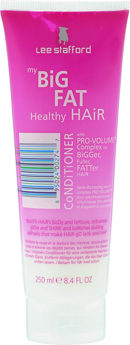 Lee Stafford Кондиционер для придания объема волосам My Big Fat Healthy Hair, 250 мл665671200220 Lee Stafford Кондиционер для придания объема волосам My Big Fat Healthy Hair Conditioner, 200 мл. Содержит комплекс Pro-Volume™, специально подобранные ингредиенты которого придают волосам объем, делая их гладкими и шелковистыми. Нанесите кондиционер на вымытые волосы, распределяя его по всей длине волос, затем смойте.
