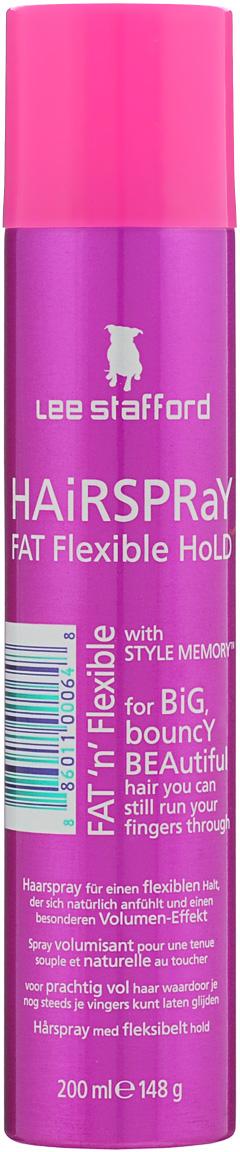 Lee Stafford Лак для волос невидимой фиксации Hold Tight, 200 мл785280200424 Lee Stafford Лак для волос невидимой фиксации Fat Flexible Hold Hair Spray, 200 мл. Фиксирует прическу, не создает пленку и не склеивает. Распылите лак на волосы в нужном объеме.