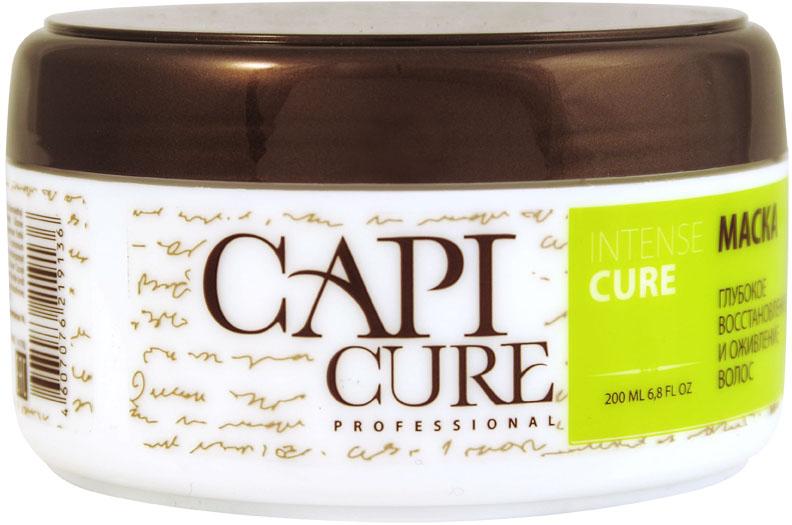 CapiCure Маска Глубокое восстановление и Оживление волос, 200 мл capicure бальзам глубокое восстановление и яркость цвета волос 300 мл