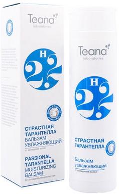 """Teana Увлажняющий бальзам, защищающий от выпадения волос для сухих, поврежденных и обезвоженных волос с аргановым маслом, молочными протеинами и кератином """"Страстная тарантелла. Н15"""", 250 мл"""