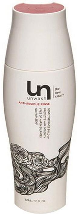 UnWash Ополаскиватель щадящий очищающий Anti-Residue, 300 млUN 1751Экстра-очищающий ополаскиватель, для интенсивного очищения! Смойте излишки укладочных средств, несмываемых средств и другие загрязнения. Очищает от загрязнений, не затрагивая естественный защитный слой волос, которые помогают поддерживать их в здоровом состоянии. Идеально подходит для тех моментов, когда вам необходимо более интенсивное очищение.