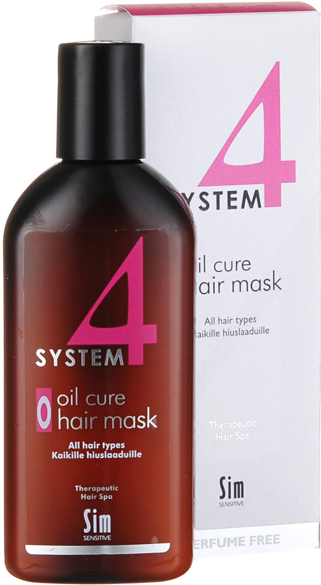 "SIM SENSITIVE Терапевтическая маска ""О"" SYSTEM 4 Oil Cure Hair Mask «O» , 215 мл"