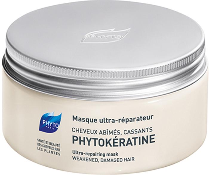 Phytosolba Маска Phytokeratine интенсивного восстановления 200 мл00000001096_белыйВпечатленные результатами исследований, доказавших огромное влияние кератиновых волокон на жизнеспособность волос, специалисты Лаборатории Phyto разработали формулу растительного кератина, способного заменить кератин естественный. Программа ухода за волосами Фитокератинактивно расширяется, включая новейшие продукты, одним из которых стала содержащая растительный кератин маска для волос идеальное средство ухода за сильно поврежденными волосами. Фито Фитокератин Маска Интенсивное восстановление - Средство интенсивного ухода для поврежденных волос с нарушением структуры. Мгновенный эффект. Поврежденные волосы наконец получили оптимальное средство интенсивного и быстрого восстановления. Состоящая на 95% из натуральных компонентов растительного происхождения, маска Фитокератин, моментально и на длительный период восстанавливает структуру, возвращает жизненную силу и блеск поврежденным волосам.