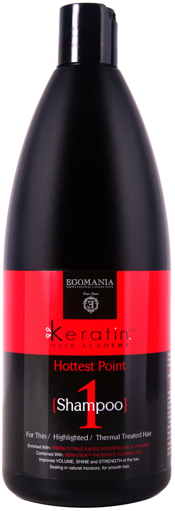 Egomania Professional Collection Шампунь Keratin Hair Academy На пике красоты! для тонких, мелированных, после химической завивки волос 1000 мл830206 Уважаемые клиенты! Обращаем ваше внимание на то, что упаковка может иметь несколько видов дизайна. Поставка осуществляется в зависимости от наличия на складе.