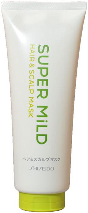 Маска для волос Shiseido Super Mild, 200 г896590Маска для ухода за волосами Shiseido Super Mild обладает ароматом трав, который освежает и придает чувство легкости. Маска интенсивно восстанавливает поврежденные волосы, покрывает защитной пленкой каждый волос и предотвращает появление перхоти. Защищает волосы от неблагоприятных факторов, таких как сухость и трение. Экстракт розмарина, масло перечной мяты и эссенция перца укрепляют волосы, стимулируют рост, очищают кожу головы от жировых пробок и отмерших частичек, улучшают кровообращение, укрепляют корни волос, делают волосы шелковистыми и блестящими. Экстракт ромашки интенсивно питает, стимулирует рост, смягчает и защищает поверхность волос, придает объем. Протеин овса, масло ростков пшеницы и витамин Е разглаживают и восстанавливают структуру поврежденных волос. Минеральное масло выполняет регенерирующие действия на поврежденных участках, придает волосу тонус и упругость, облегчает расчесывание, придает легкость. Способ применения: нанести легкими массажными движениями на вымытые волосы (без кондиционера), оставить на 5 минут, смыть водой. Применять 1-2 раза в неделю. Характеристики: Вес: 200 г. Артикул: 896590. Производитель: Япония. Товар сертифицирован.