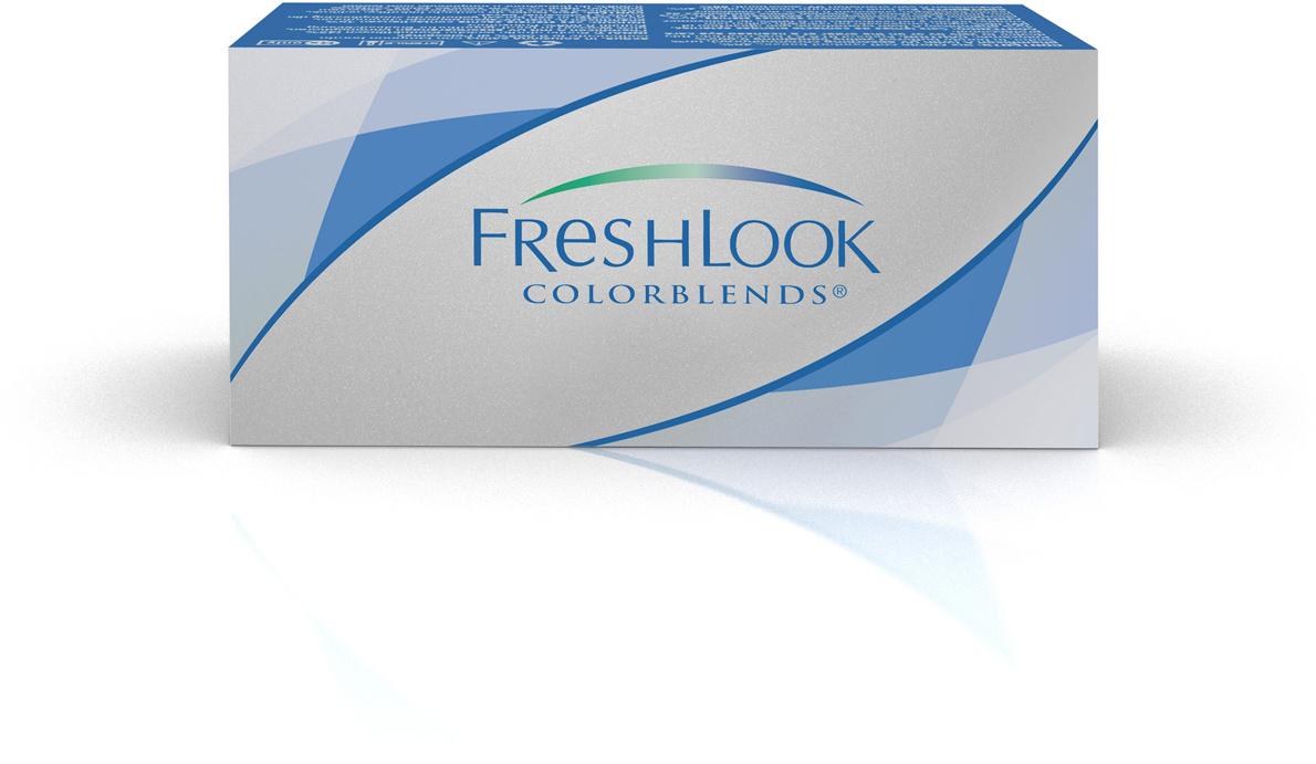 Аlcon контактные линзы FreshLook ColorBlends 2шт -6.00 Brilliant Blue39506Мягкие контактные линзыКонтактные линзы или очки: советы офтальмологов. Статья OZON Гид