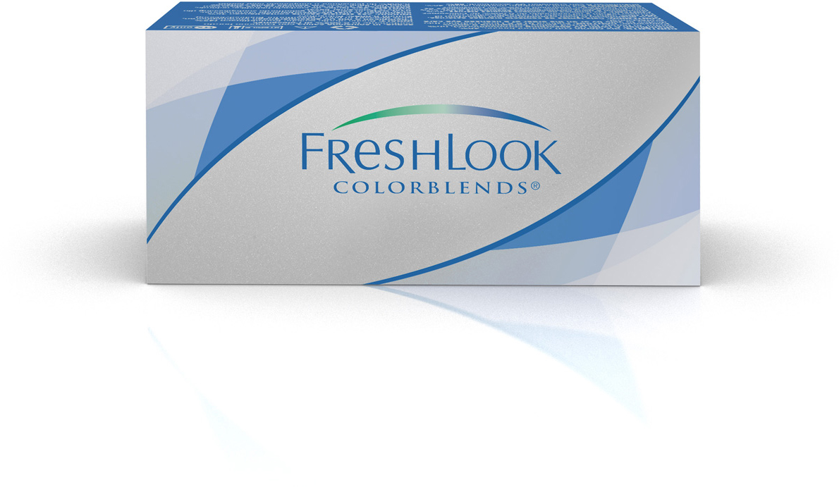 Аlcon контактные линзы FreshLook ColorBlends 2шт -5.50 Turquoise