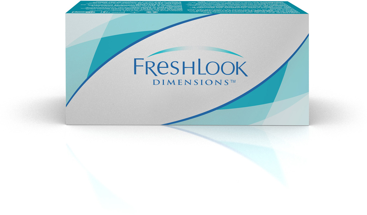 Аlcon контактные линзы FreshLook Dimensions 6шт -3.50 Sea Green bausch lomb контактные линзы purevision 6шт 8 3 3 00