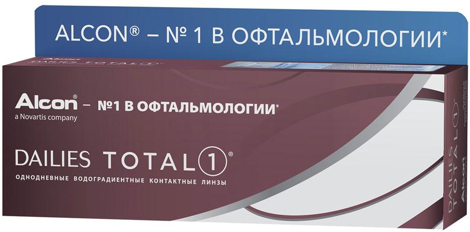 Alcon контактные линзы Dailies Total 1 30pk /-2.25 / 8.5 / 14.1