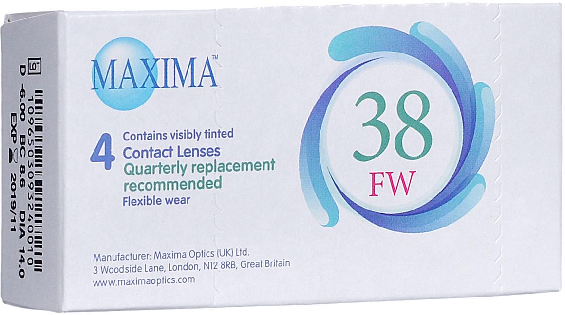 Maxima контактные линзы 38 FW (4 шт / 8.6 / -6.00)