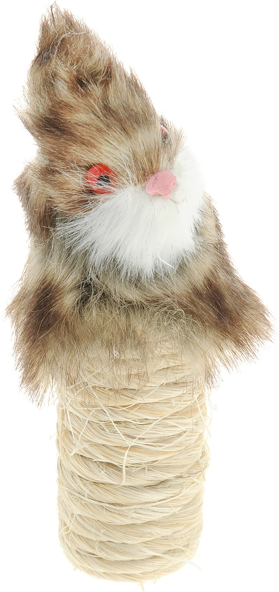 Игрушка-когтеточка для кошек Zoobaloo Кролик, длина 10 см328_кроликИгрушка-когтеточка для кошек Zoobaloo Кролик выполнена из сизаля и искусственного меха. Такой забавной когтеточкой можно не только поточить коготки, но и весело поиграть, гоняя по полу лапкой или покусывая зубами. Если вы хотите сделать вашей кошке по-настоящему шикарный подарок - приобретите этот аксессуар, совместив приятное с полезным. Когтеточки - обязательный аксессуар для личной гигиены кошек, который помогает животным избавиться от мешающихся шелушащихся слоев когтя, причиняющих дискомфорт подушечкам лап. Кроме того волокна сизаля - натуральный растительный продукт, который не только является очень крепким и стойким к повреждениям, но так же имеет отталкивающее бактерии покрытие, благодаря чему абсолютно безвреден для кошек.Размеры игрушки: 10 х 2 х 2 см.УВАЖАЕМЫЕ КЛИЕНТЫ! Обращаем ваше внимание на возможные изменения в цветовом дизайне, связанные с ассортиментом продукции. Поставка осуществляется в зависимости от наличия на складе.
