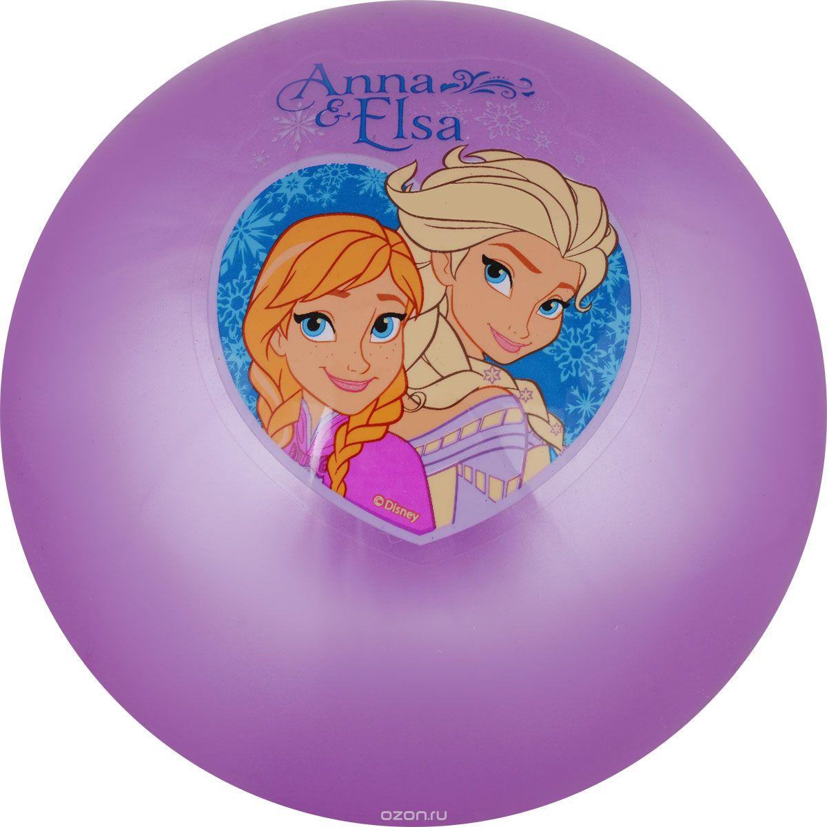 Играем вместе Мяч Холодное Сердце цвет сиреневый 23 см