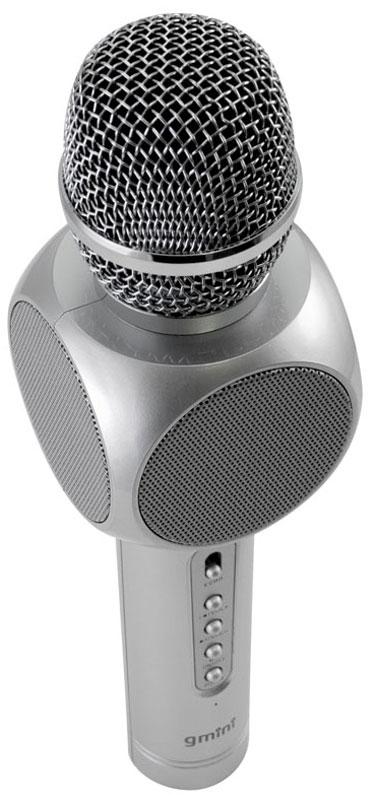 Gmini GM-BTKP-03, Silver караоке-микрофон - Микрофоны
