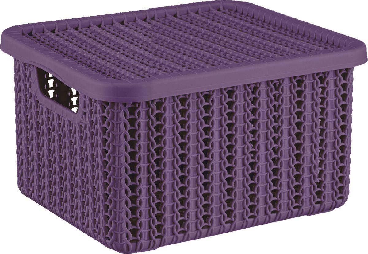 Коробка Idea Вязание, цвет: пурпурный, 1,5 л, с крышкойМ 2368Новая очаровательная, уютная коробочка дополняет серию изделий с текстурой вязания спицами.Коробки небольшого размера отлично подойдут для хранения мелочей: ниток, косметики, предметов рукоделия, детских носочков.Благородные пастельные оттенки идеально гармонируют друг с другом. Отлично смотрятся и на открытых полках, и в закрытых шкафах.Ставятся друг на друга в специальные углубления на крышке.Коробки для хранения из пластмассы - это лучшая альтернатива коробкам из картона и плетеным, вязаным корзинкам. Они легко моются, имеют гладкую поверхность, не теряют форму и цвет. Сохраняют свой первоначальный вид многие годы.