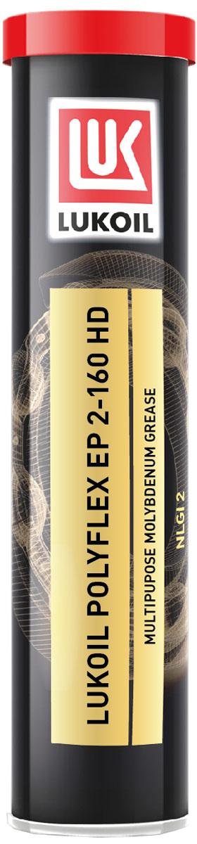 Смазка ЛУКОЙЛ ПОЛИФЛЕКС ЕР 2-160 HD1702934Смазка ЛУКОЙЛ ПОЛИФЛЕКС ЕР 2-160 HD — антифрикционная смазка, изготовленная на основе смеси высококачественных минеральных базовых масел, загущенных специальным литиевым мылом. Смазка легирована высокоэффективным комплексом присадок, улучшающих эксплуатационные свойства, а также содержит твердые смазочные наполнители, для работы в условиях граничного трения. Рабочий диапазон температур от -30°С до +120°С. Благодаря наличию специально подобранных присадок смазка ЛУКОЙЛ ПОЛИФЛЕКС.ЕР 2-160 HD обеспечивает отличную защиту смазываемых деталей от коррозии в условиях высокой влажности.Благодаря наличию твердых смазочных веществ смазка ЛУКОЙЛ ПОЛИФЛЕКС.ЕР 2-160 HD обладает отличными противоизносными и противозадирными характеристиками, обеспечивающими плавность движения без рывков, надежную защиту оборудования в условиях высоких удельных нагрузок скольжения и ударных нагрузок.Смазка ЛУКОЙЛ ПОЛИФЛЕКС ЕР 2-160 HD обладает мягкой консистенцией и имеет высокую устойчивость к термической, структурной и окислительной деструкции.В УЗЛАХ: тяжелонагруженные подшипники скольжения; шлицевые соединения, штифты, шкворни, пальцы, оси; средненагруженные зубчатые передачи; различные поверхности скольжения, работающие с низкими скоростями и высокими динамическими нагрузками.Работа в условиях граничного тренияПредотвращает залипание и заклиниваниеОтличные противозадирные свойстваУвеличенный срок службыХорошие антикоррозионные свойстваХорошая водостойкостьПредотвращает стик-слип эффект