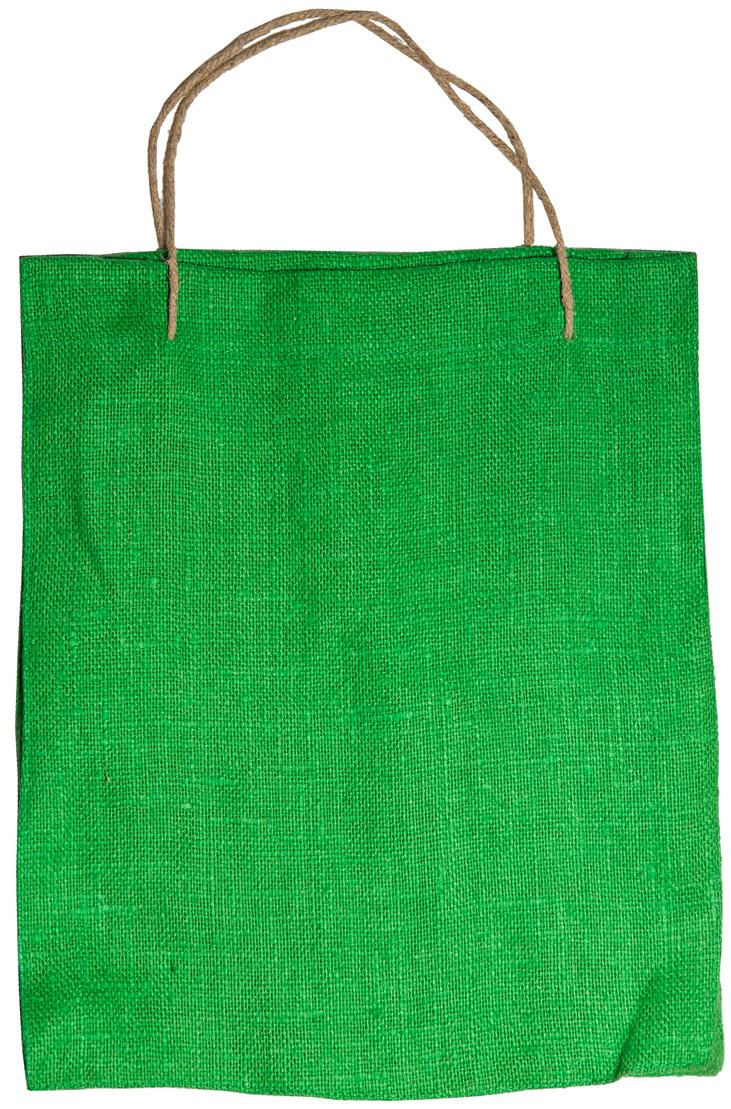 Сумка хозяйственная Подарок, цвет: зеленый, 1 л4зелЭксклюзивная упаковка для дорогих и близких. Сумочка выполнена из 100% льна. Текстура плетения ткани - мешковина. Подарок в такой упаковке выделит Вас из миллионов! Эко сумка - это практично, удобно, выгодно.