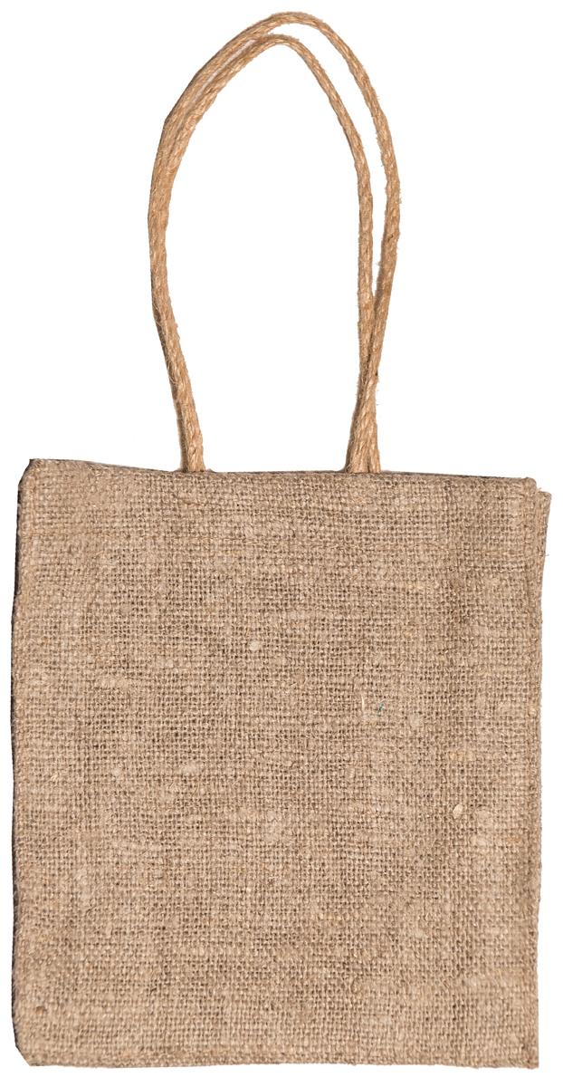 Сумка хозяйственная Подарок, цвет: натуральный, 1 л4натЭксклюзивная упаковка для дорогих и близких. Сумочка выполнена из 100% льна. Текстура плетения ткани - мешковина.Подарок в такой упаковке выделит Вас из миллионов!Эко сумка - это практично, удобно, выгодно.