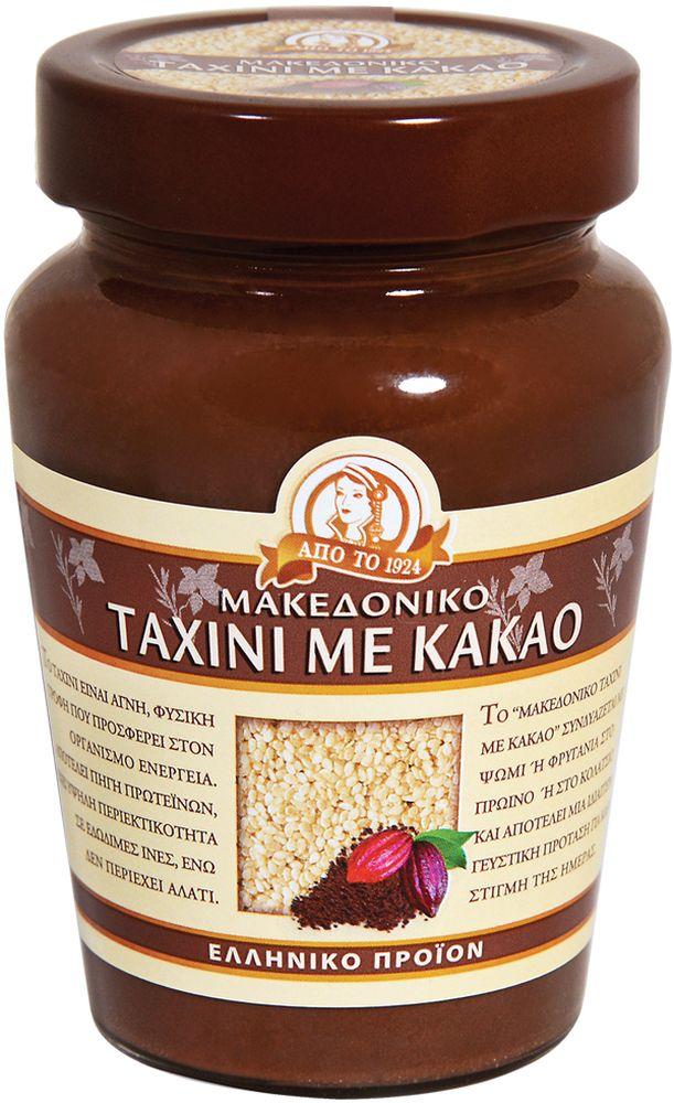 """Кунжутная, или сезамовая паста Тахини традиционный натуральный продукт восточной (арабской, еврейской, греческой и др.) кухни. Получают ее путем размалывания поджаренных зерен сезама (кунжута). В результате получается густая, но нежная, насыщенно однородная паста с мягкой кремовой структурой. По консистенции напоминает арахисовое масло. На Востоке она является необходимым компонентом ко многим блюдам и салатам. Тахинная масса используется для приготовления многих восточных сладостей, в том числе и одной из самых известных — халвы. В сочетании с другими продуктами паста Тахини заставляет вкус блюда звучать совершенно по-новому, одновременно облагораживая его аромат. Вот почему на ее основе делается так много соусов и подливок. Греции и на Кипре — кипрские пирожки с Тахини """"тахина-пита"""" особенно популярны во время Великого Поста. Часто в Тахини добавляют оливковое масло, лимонный сок, чеснок, молотый кумин, красный перец, петрушку и используют в качестве подливки или просто подают с питой или хлебом.Предлагаемая Тахини произведен без каких-либо химических добавок на любом этапе его производства. Стерилизован и пастеризован перед упаковкой. Тахини богата белком, витаминами и антиоксидантами. Это идеальное и полноценное питание, которое укрепляет здоровье, сердце, мозг.Прекрасный источник полезных витаминов т.к.: витамин B1, омега-3 и 3,4 мг омега-6, кальция, железа, меди и фосфора, цинка и минеральных веществ. Поможет наладить пищеварение, помогает при угревой сыпи, предотвращает выпадение волос."""