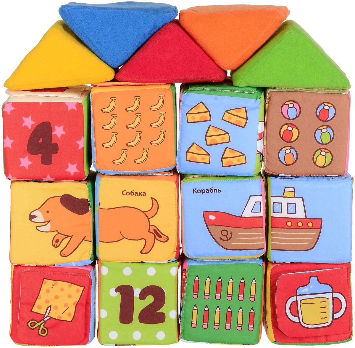 K'S Kids Кубики мягкие Обучайка - Игрушки для малышей