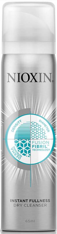 Nioxin Dry Cleanser Сухой шампунь для волос, 65 мл81569370/9090 NEWСухой шампунь для мгновенного объема - это идеальное решение для ежедневного применения. Его формула за секунды абсорбирует себум, а также помогает продлить действие 3-х ступенчатых систем ухода, придавая волосам эффект объемных и более густых волос. Двух кратное увеличение густоты волос за считанные секунды. В основе сухого шампуня лежит эксклюзивная технология Fusion Fibril, которая мгновенно удаляет излишки себума, который образуется на коже и волосах в течение дня, и создает объем между отдельными стержнями волос. Средство легко распределяется по волосам при помощи расчески, оставляя кожу головы и волосы абсолютно чистыми.Объем: 65 мл.Сухой шампунь: всё, что нужно знать. Статья OZON Гид