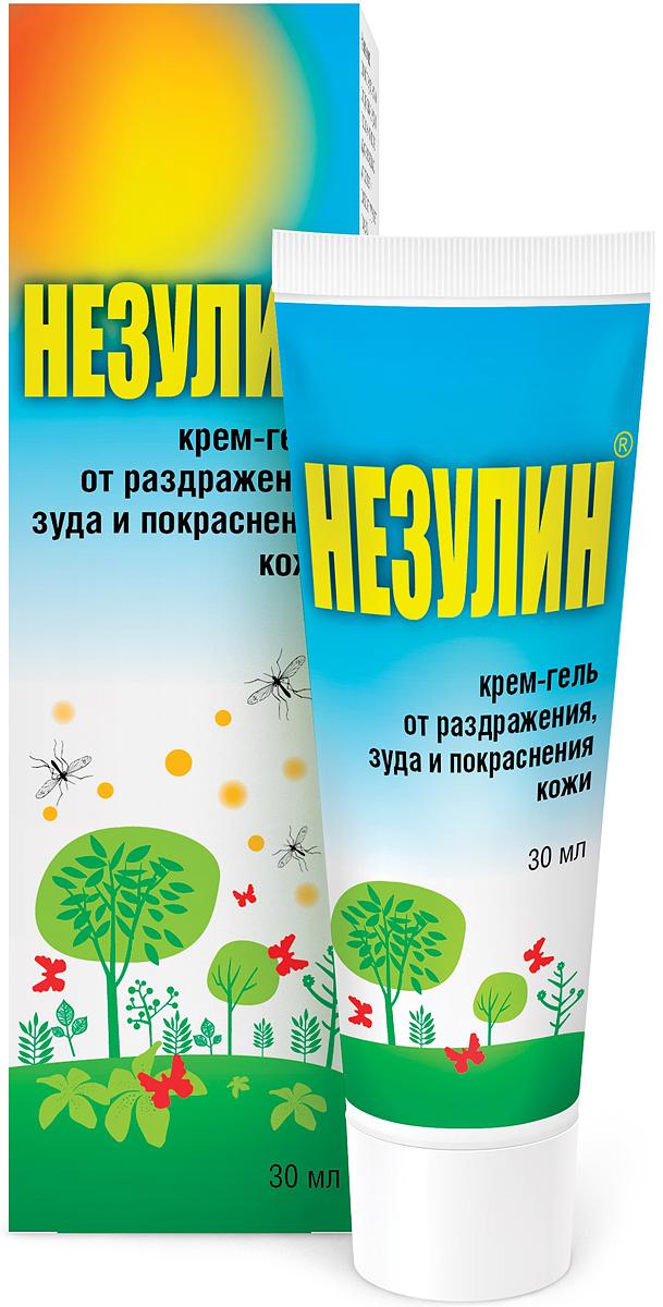 Незулин крем-гель от раздражения, 30 мл12664Незулин – это средство от раздражения, зуда и покраснения кожи, которое разработано специально для тех людей, кому необходимо точечно и быстро устранить неприятные ощущения на коже.Комплекс биологически активных веществ, входящий в состав кремгеля, обладает выраженными антиаллергическим, противовоспалительным и репаративным действиями.Растительные экстракты и эфирные масла помогут облегчить состояние после укусов насекомых, при крапивнице, при раздражении кожи после воздействия различных внешних факторов. Выпускается Незулин в форме крем-геля. Такая Форма выпуска. обеспечивает быструю впитываемость и быстрый эффект.Описание основных компонентов.Экстракты чистотела, ромашки и подорожника – благодаря антибактериальному действию оказывают положительный эффект при воспалительных процессах на коже. Обладают противозудным, ранозаживляющим, обезболивающим, антибактериальным, успокаивающим свойствами, снимают покраснения и отечность.Экстракт солодки – оказывает противоаллергическое, противовоспалительное, антибактериальное, смягчающее действия.Эфирное масло базилика – устраняет зуд, жжение, покраснения, отечность после укусов насекомых, тонизирует и освежает кожу, оказывает обезболивающее, бактерицидное, спазмолитическое действия. Аромат масла отпугивает насекомых.Эфирное масло лаванды – обладает свойствами репеллента, снимает зуд и раздражение кожи, облегчает боль от укусов насекомых; оказывает антигистаминное, антисептическое действия.Эфирное масло мяты – охлаждает и освежает кожу. Обладает спазмолитическим и болеутоляющим свойствами при кожном зуде и мышечной боли.Д-пантенол – оказывает ранозаживляющее и противовоспалительное действия. Эффективен при зудящих и аллергических реакциях.