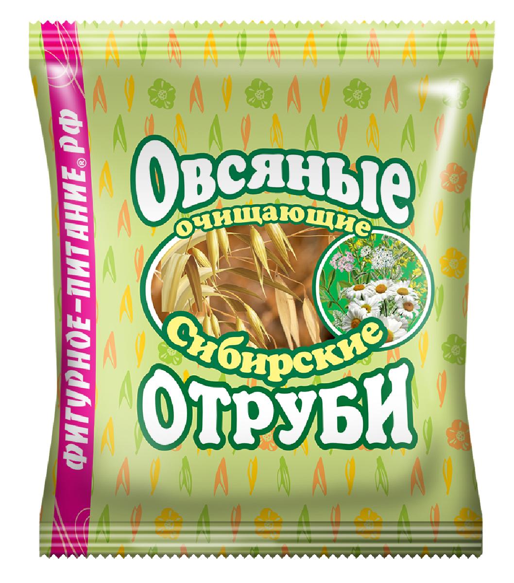 Сибирские Отруби овсяные очищающие, 200 г сибирские отруби овсяные натуральные 200 г