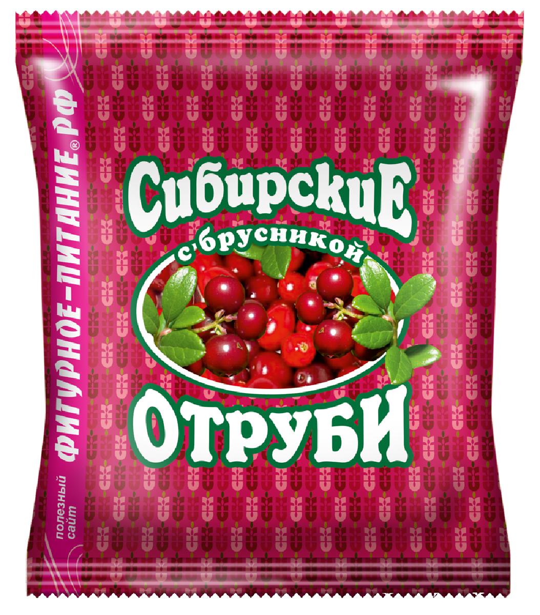 Сибирские Отруби пшеничные с брусникой, 200 г сибирские отруби овсяные натуральные 200 г
