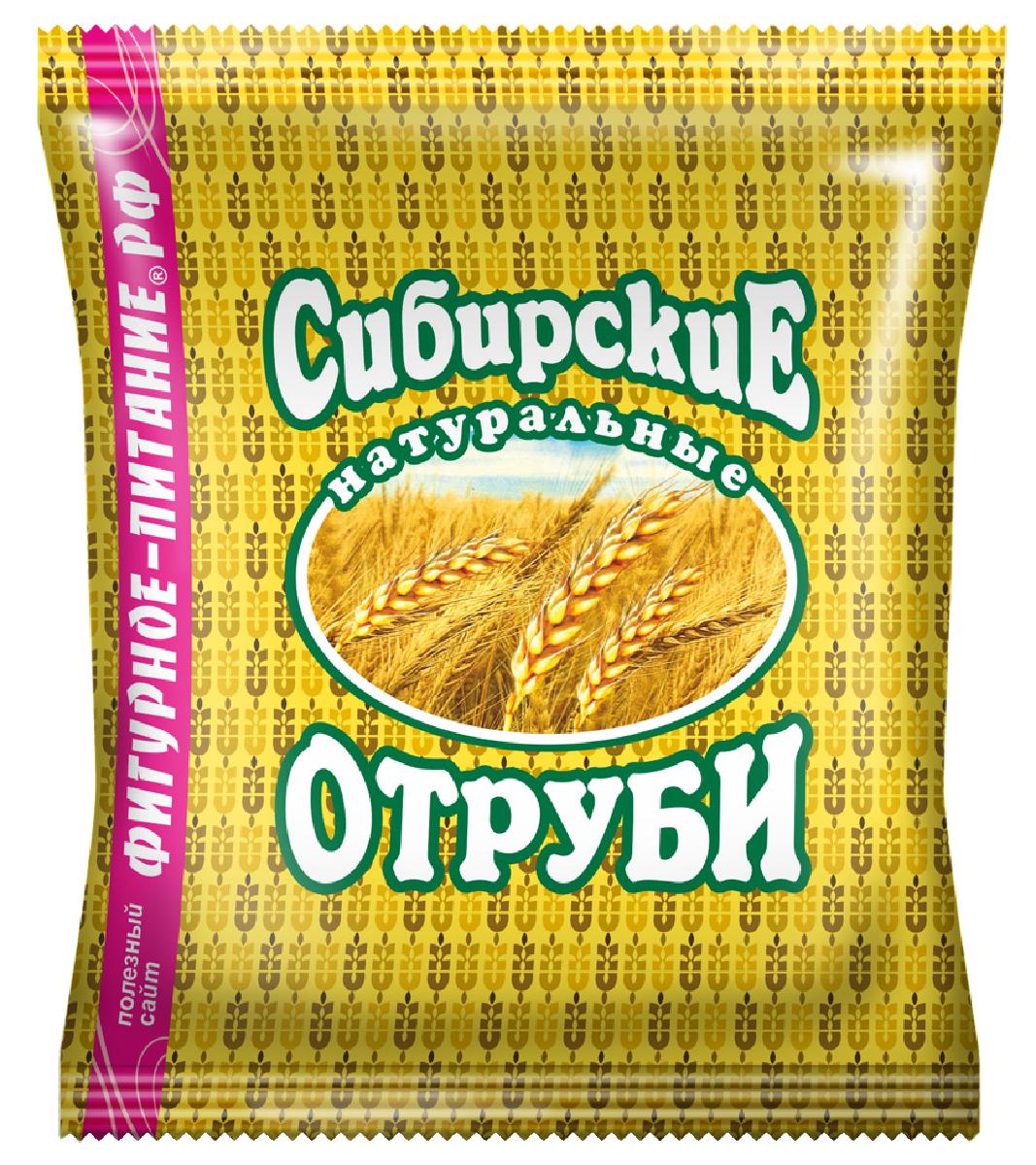 Сибирские Отруби пшеничные натуральные, 200 г сибирские отруби овсяные натуральные 200 г