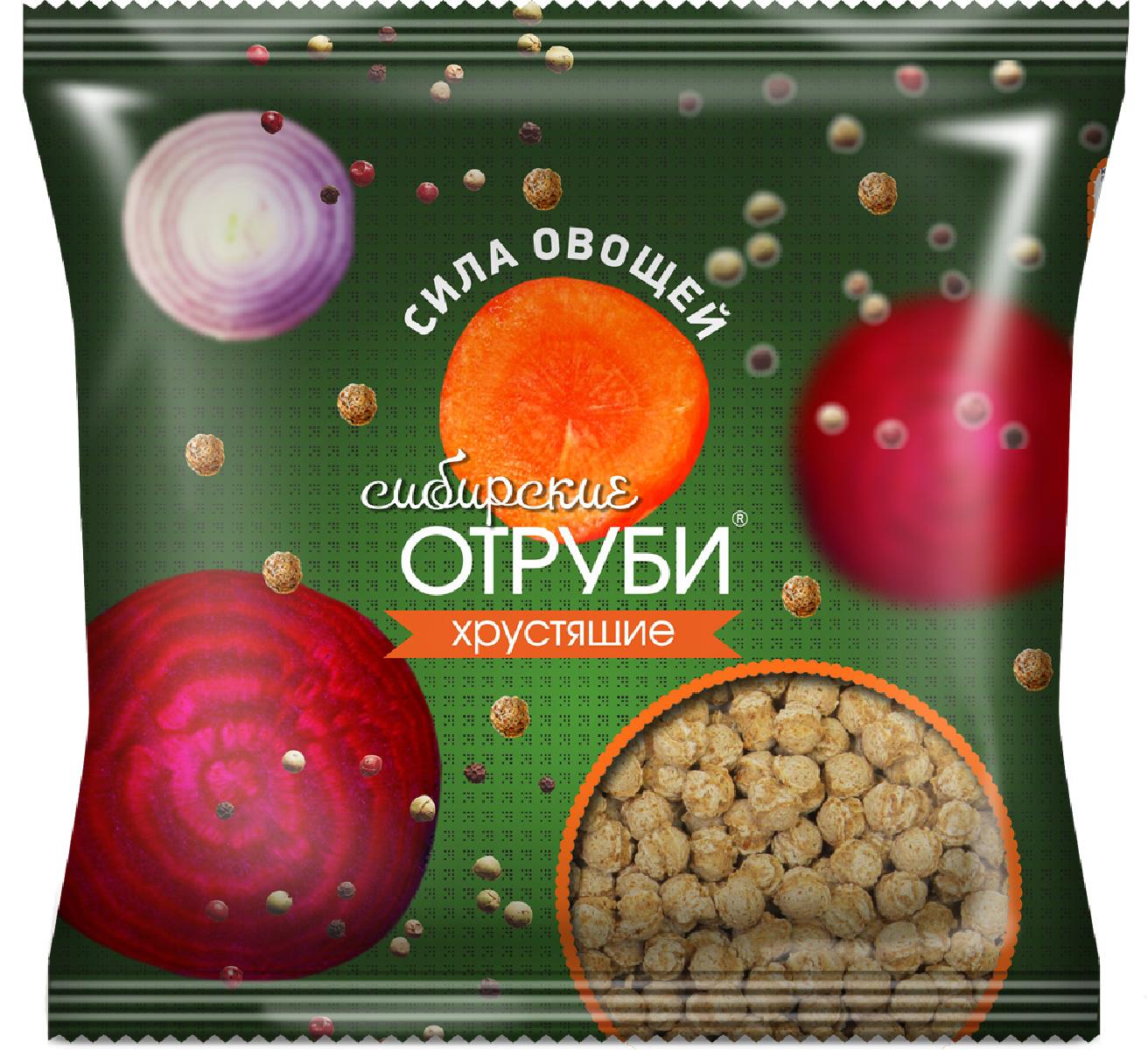 Сибирские Отруби хрустящие сила овощей, 100 г сибирские отруби хрустящие сила ягод 100 г