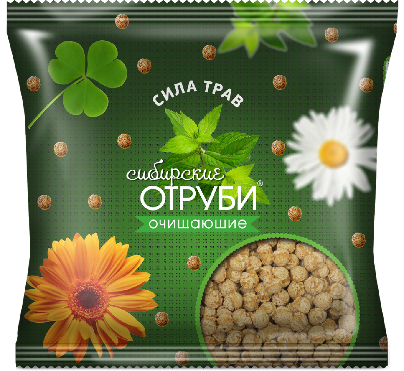 Сибирские Отруби хрустящие сила трав, 100 г сибирские отруби пшеничные натуральные 200 г