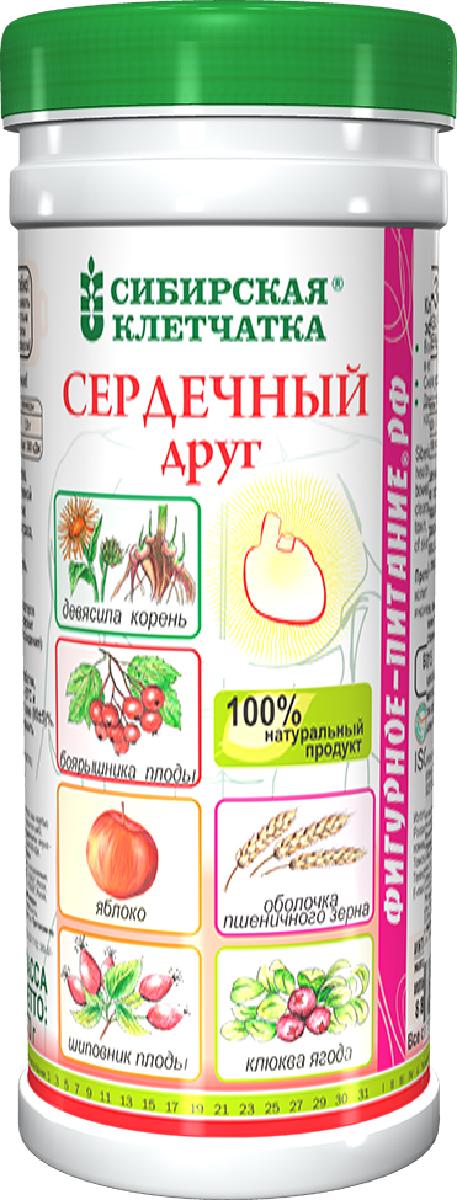 Сибирская Клетчатка сердечный друг, 170 г сибирская клетчатка иммунитет плюс 170 г