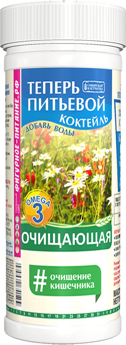 Сибирская клетчатка питьевой коктейль очищающий, 170 г сибирская клетчатка здоровый желудок 170 г