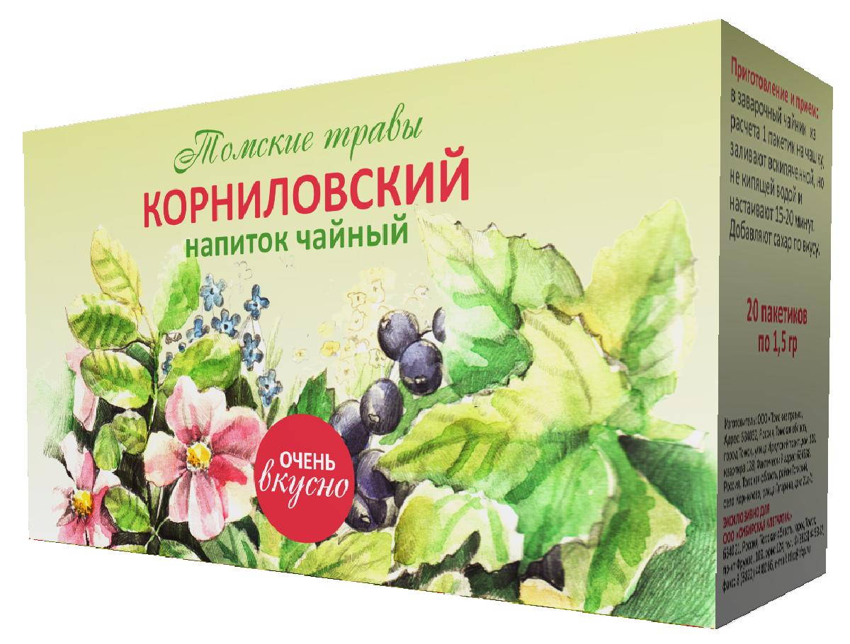 где купить Черникоff напиток чайный корниловский в пакетиках, 20 шт по лучшей цене