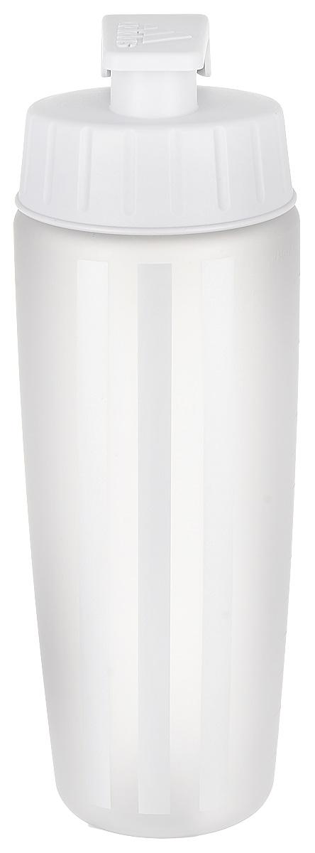 Бутылка спортивная Adidas, цвет: серый, 750 мл4057282387981Употребление достаточного количества жидкости — залог эффективной тренировки. Спортивная бутылка для воды от Adidas поможет следовать этому правилу. Модель из прочного пластика дополнена герметичной крышкой и украшена вертикальными тремя полосками. Устойчивое к повреждениям внешнее покрытие.Как повысить эффективность тренировок с помощью спортивного питания? Статья OZON Гид