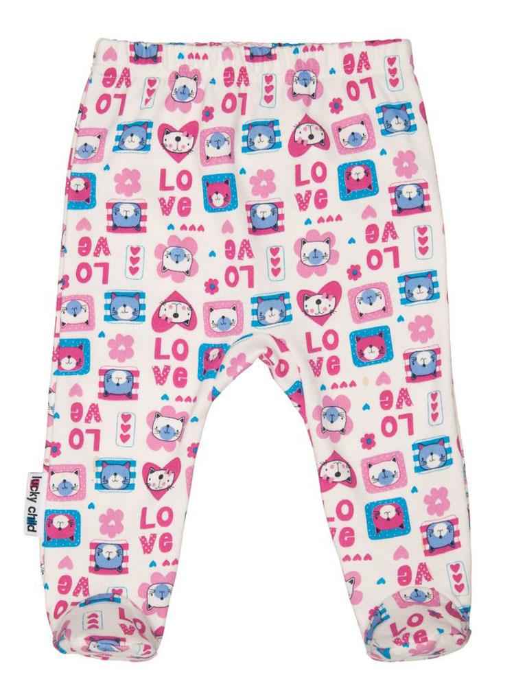 Ползунки детские Luky Child, цвет: розовый, молочный. А6-104/цв. Размер 68/74А6-104/цвУдобные ползунки для новорожденного Lucky Child на широком поясе послужат идеальным дополнением к гардеробу вашего малыша. Ползунки, изготовленные из натурального хлопка, необычайно мягкие и легкие, не раздражают нежную кожу ребенка и хорошо вентилируются, а эластичные швы приятны телу младенца и не препятствуют его движениям. Ползунки с закрытыми ножками благодаря мягкому эластичному поясу не сдавливают животик ребенка и не сползают, обеспечивая ему наибольший комфорт, идеально подходят для ношения с подгузником и без него. Ползунки отлично сочетаются с футболками, кофточками и боди. В них вашему малышу будет уютно и комфортно!