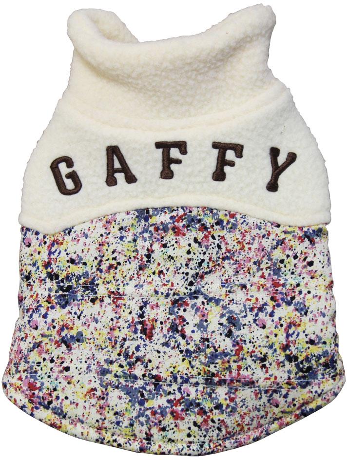 Куртка для собак Gaffy Pet Khaki Print, унисекс, цвет: мультицвет. Размер M куртка для собак gaffy pet polka dot унисекс цвет желтый размер l