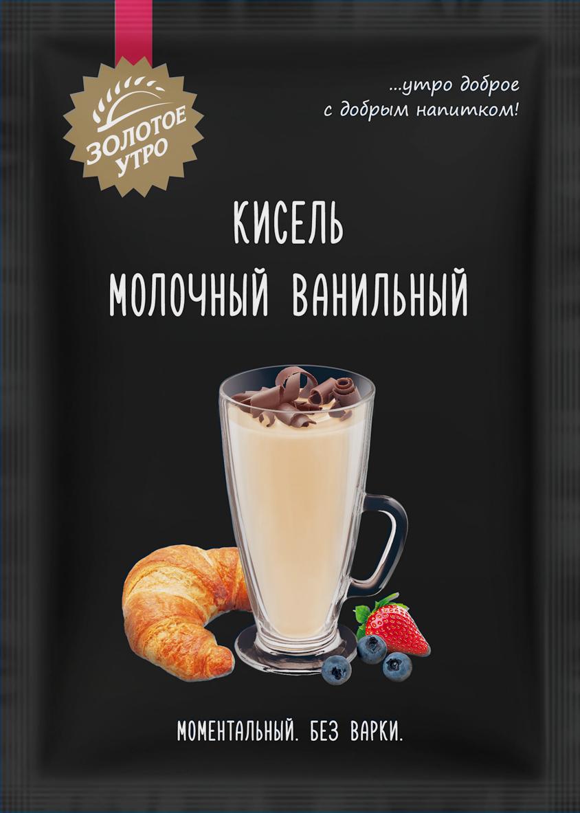 Пудовъ кисель молочный ванильный, 40 г пудовъ кексики шоколадные 250 г