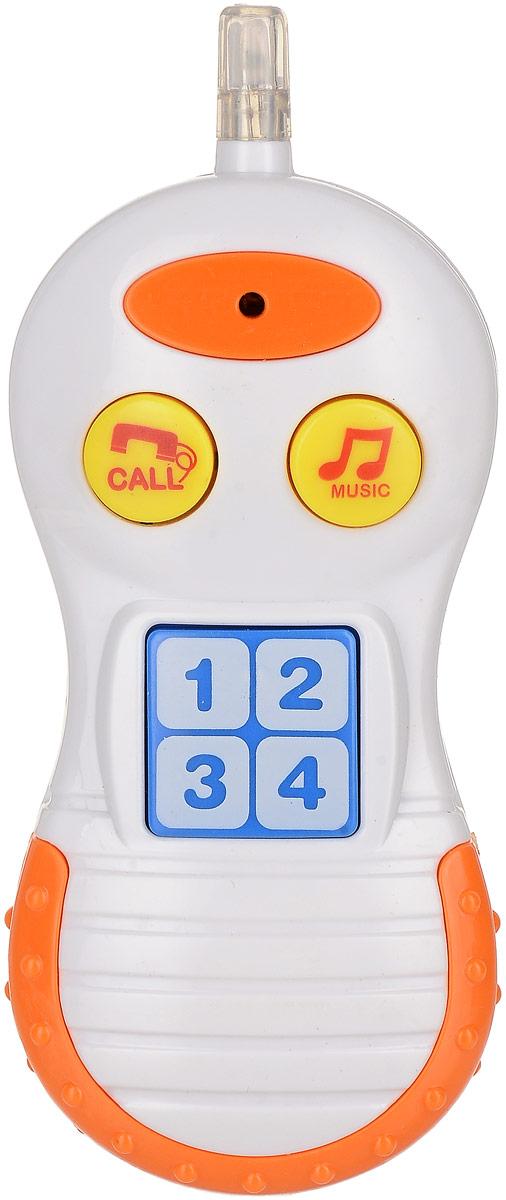 Bampi Электронная игрушка Телефон цвет белый