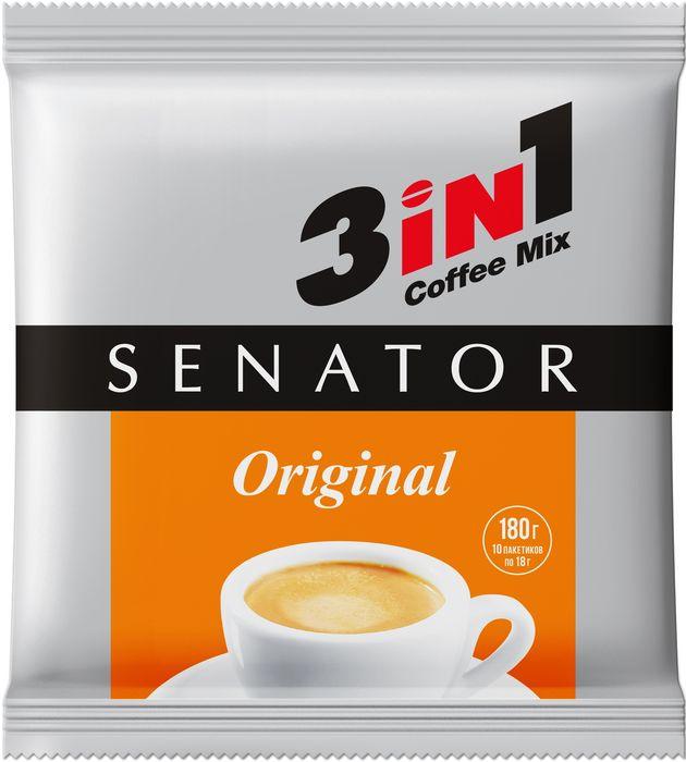 Senator Original напиток кофейный, 10 шт по 18 г