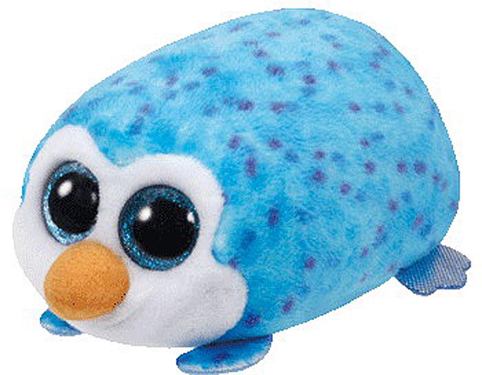 TY Мягкая игрушка Пингвин Gus цвет голубой 11 см котенок маффин ty