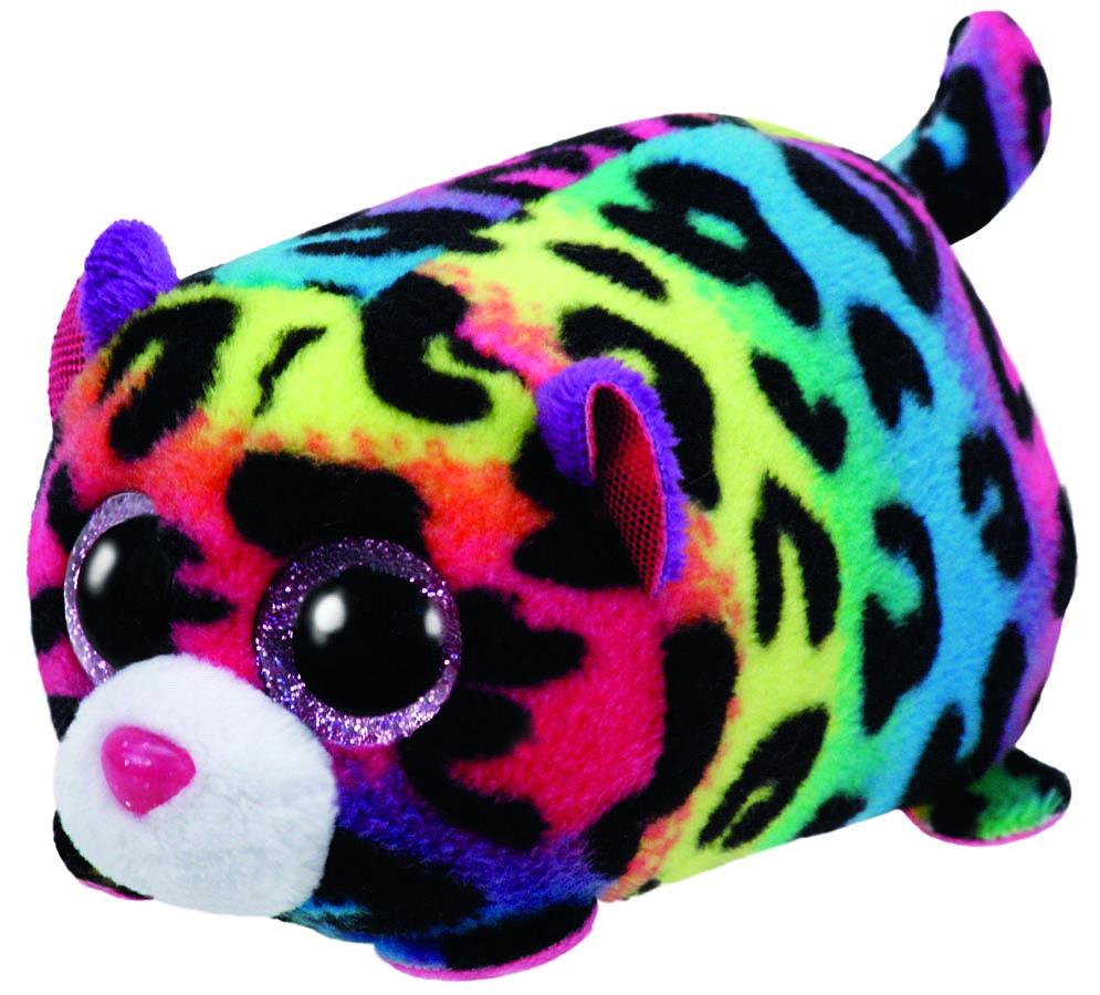 TY Мягкая игрушка Леопард Jelly 10 см