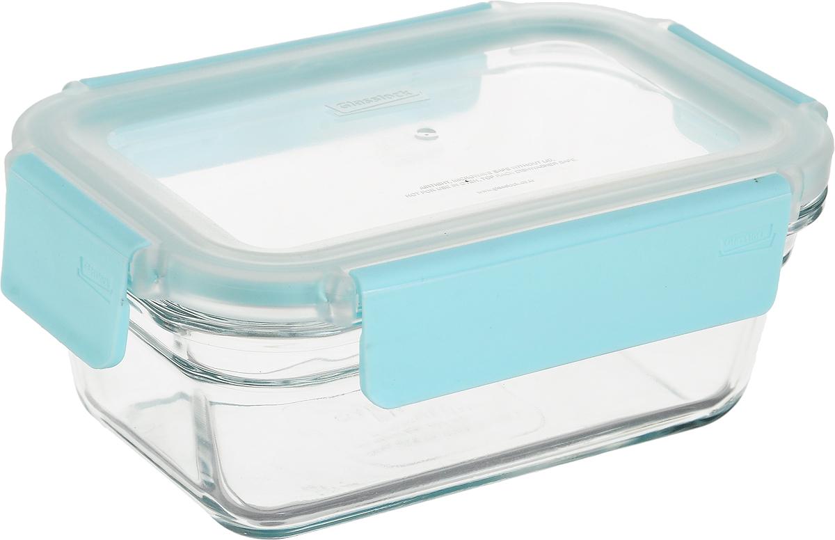 цена на Контейнер Glasslock, прямоугольный, цвет: прозрачный, 480 мл. MCRT-048P