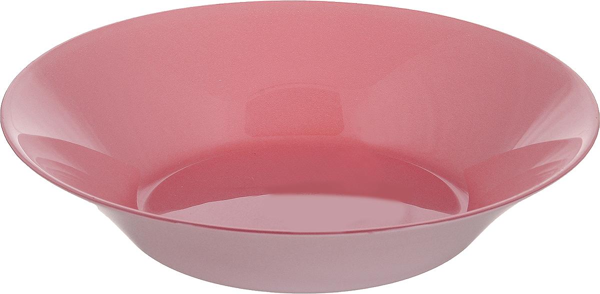 Тарелка глубокая Pasabahce Пепл Сити, цвет: розовый, диаметр 22 см10335SLBD36_розовыйГлубокая тарелка Pasabahce Пепл Сити выполнена из качественного стекла.Изящная тарелка прекрасно оформит праздничный стол и порадует вас и ваших гостей изысканным дизайном и формой. Диаметр тарелки: 22 см. Высота: 4,5 см.