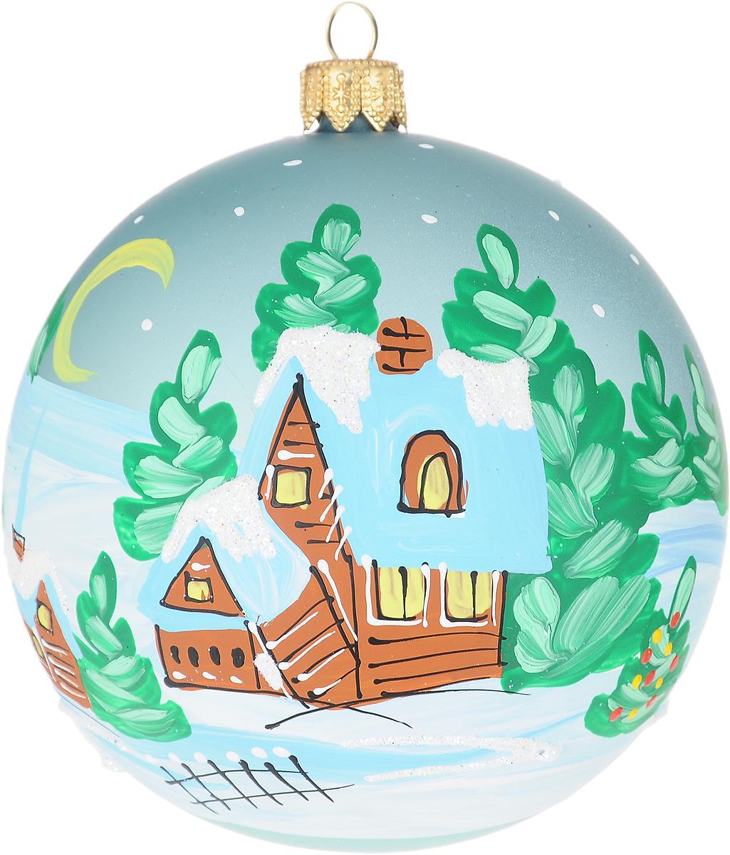 Украшение новогоднее елочное Иней Горный аул, цвет: светло-голубой, диаметр 10 см1519287_светло-голубойНовогоднее подвесное украшение Иней отлично подойдет для декорации вашего дома и новогодней ели. Новогоднее украшение можно повесить в любом понравившемся вам месте. Но, конечно, удачнее всего оно будет смотреться на праздничной елке.Елочная игрушка - символ Нового года. Она несет в себе волшебство и красоту праздника. Такое украшение создаст в вашем доме атмосферу праздника, веселья и радости.