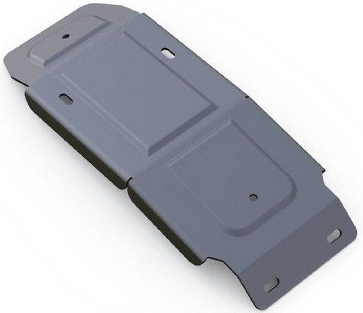 Защита редуктора Rival, для AUDI Q7. 333.0333.1333.0333.1Защита редуктора для Audi Q7, V - 3,0TFSI; 3,0TFSI S-Line; 3,0TDI 2015-, крепеж в комплекте, алюминий 4 мм, Rival. Надежно защищают днище вашего автомобиля от повреждений, например при наезде на бордюры, а также выполняют эстетическую функцию при установке на высокие автомобили.- Толщина алюминиевых защит в 2 раза толще стальных, а вес при этом меньше до 30%.- Отлично отводит тепло от двигателя своей поверхностью, что спасает двигатель от перегрева в летний период или при высоких нагрузках.- В отличие от стальных, алюминиевые защиты не поддаются коррозии, что гарантирует срок службы защит более 5 лет.- Покрываются порошковой краской, что надолго сохраняет первоначальный вид новой защиты и защищает от гальванической коррозии.- Глубокий штамп дополнительно усиливает конструкцию защиты.- Подштамповка в местах крепления защищает крепеж от срезания.- Технологические отверстия там, где они необходимы для смены масла и слива воды, оборудованные заглушками, надежно закрепленными на защите.Уважаемые клиенты!Обращаем ваше внимание, на тот факт, что защита имеет форму, соответствующую модели данного автомобиля. Фото служит для визуального восприятия товара.