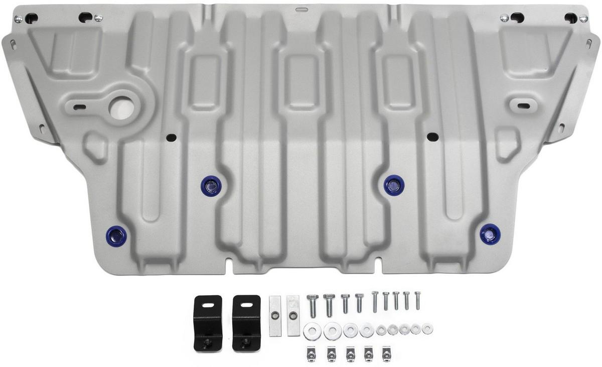 Защита картера Rival для Audi A4 2015- / Audi A5 2016-, алюминий 4 мм - Тюнинг и защита - Защита внешних частей